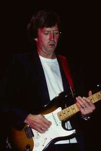 Eric Clapton with Roger WatersMeadowlands New Jersey 1984