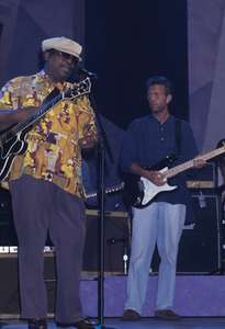 B.B. King and Eric ClaptonApollo TheatreNYC 1993