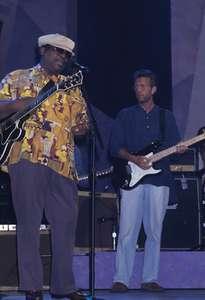 B.B. King and Eric ClaptonApollo TheatreNYC 1993