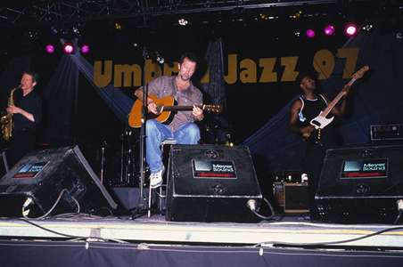 David SanbornEric Clapton and Marcus MillerLegendsPerugia, Italy 1997