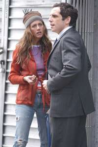 Jennifer Aniston and Ben StillerAlong Came PollyLower Easr SideNYC 2003