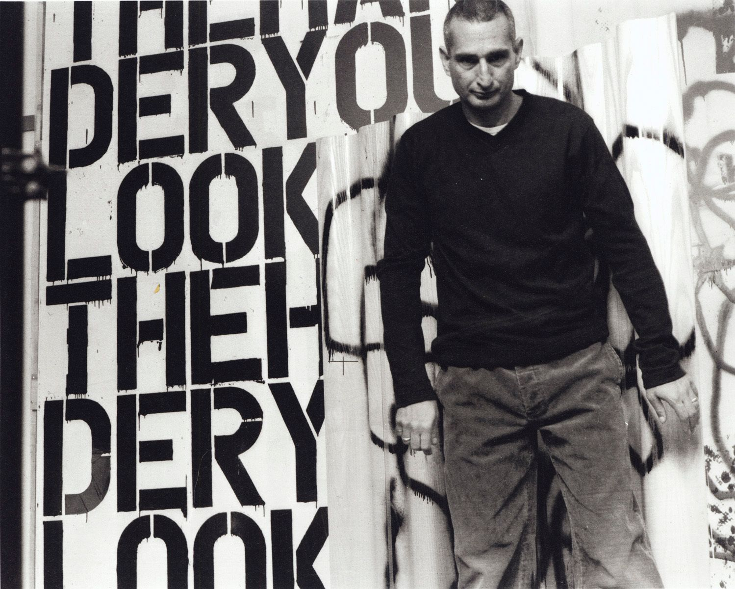 CHRISTOPHER WOOL© ELFIE SEMOTAN