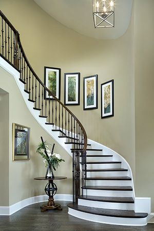ashville staircase Florida architectural photographer