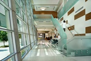 Beck Architecture CAMLS Medical Lobby by Florida architectural photographer