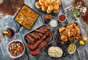 Fred's Market BBQ by Florida commercial food photographer