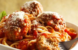 Vigo-Alessi Foods Spaghetti and Meatballs by Florida commercial food photographer