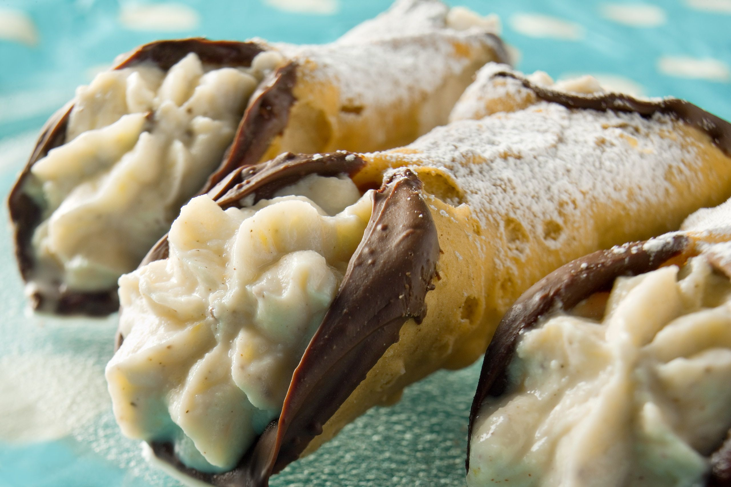 Cannoli by Florida commercial food photographer