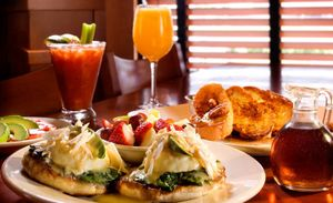 Grillsmith Restaurants Crab Benedict by Florida commercial food photographer
