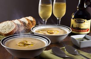 Alessi Foods Mushroom Soup Florida commercial food photographer