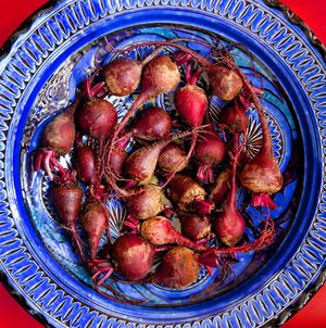Moroccan Beets by Florida commercial food photographer