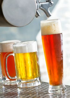 Beer by Florida commercial food photographer