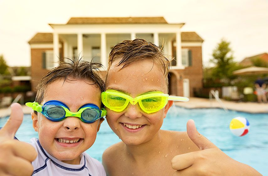 Pool lifestyle by Florida corporate photographer