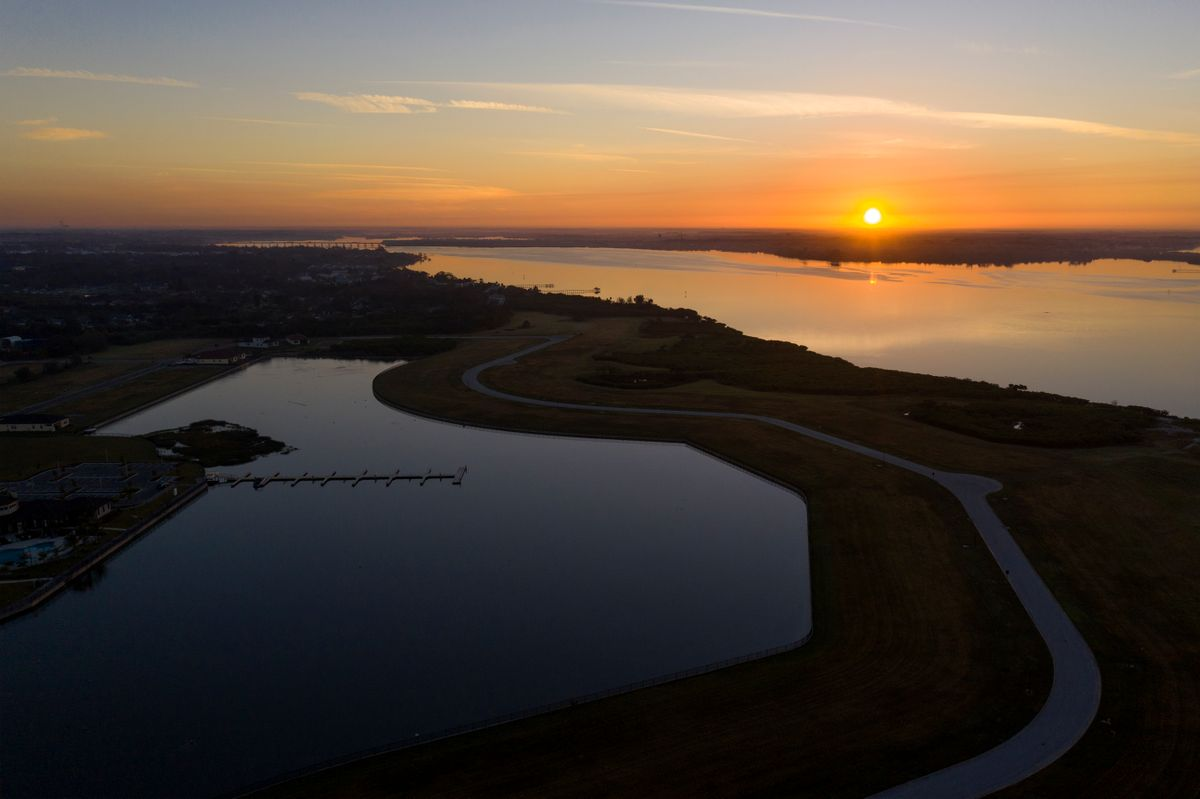 WEB RES Sanctuary Cove Aerial Sunrise by Rob-Harris 0226.JPG