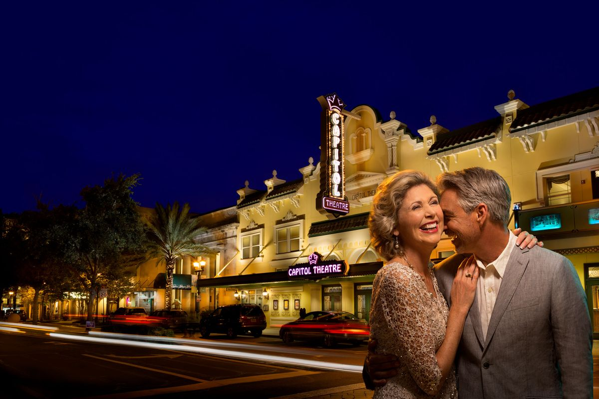 Belleview Community capital theater by Florida corporate photographer