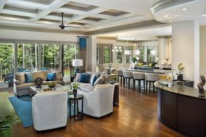 silver oak great room Florida architectural