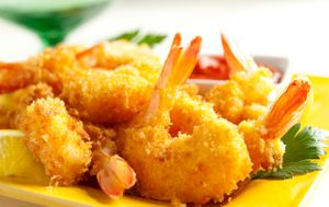 Alessi Foods Panko Shrimp by Florida commercial food photographer