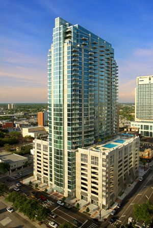 Kraft Construction The Element Downtown Tampa by Florida architectural photographer