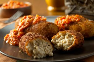 Alessi Foods Chicken Croquettes Florida commercial food photographer