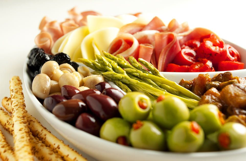 Alessi Foods Antipasto by Florida commercial food photographer