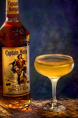 Captain Morgan by Florida commercial food photographer