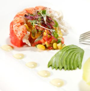Zelen Communications Mise En Place Lobster by Florida commercial food photographer