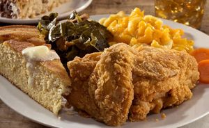 Fried Chicken by Florida commercial food photographer