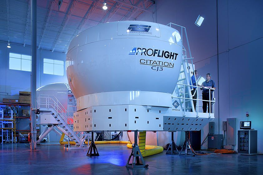 proflight sim product photography florida