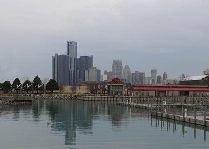 Detroit Cityscape *