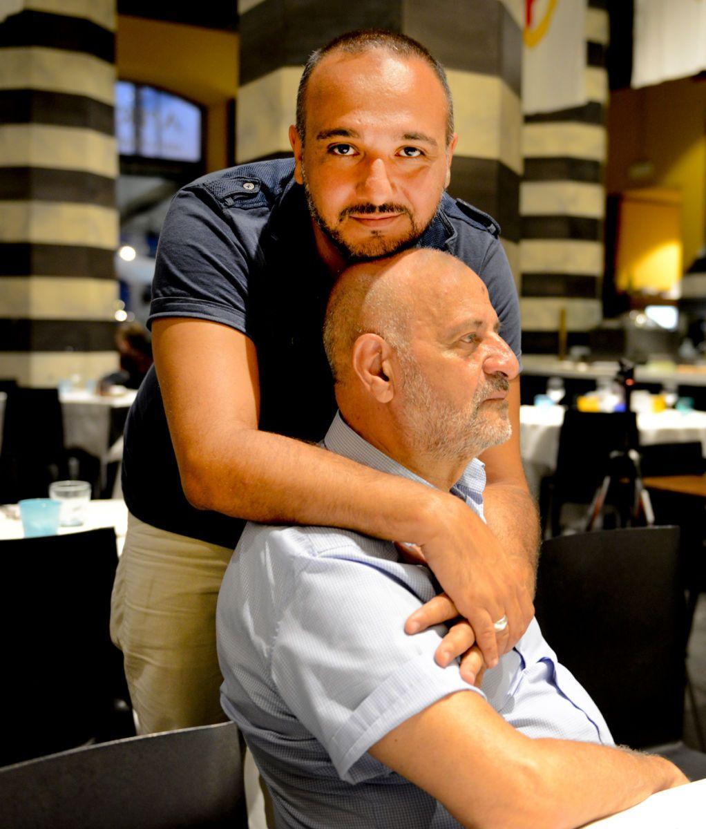 Director Luca Guardabascio and his Father, Sergio.