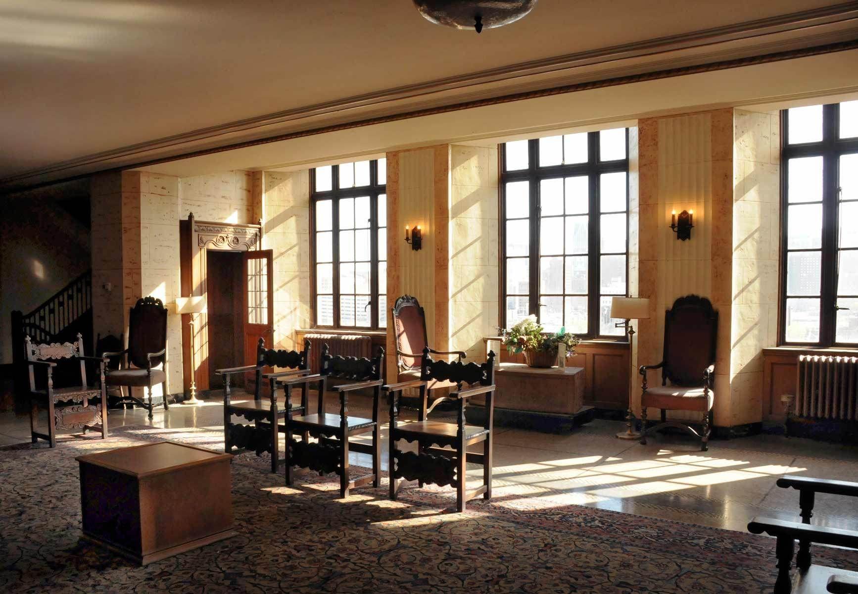 Inside the Masonic Temple- Detroit, Michigan