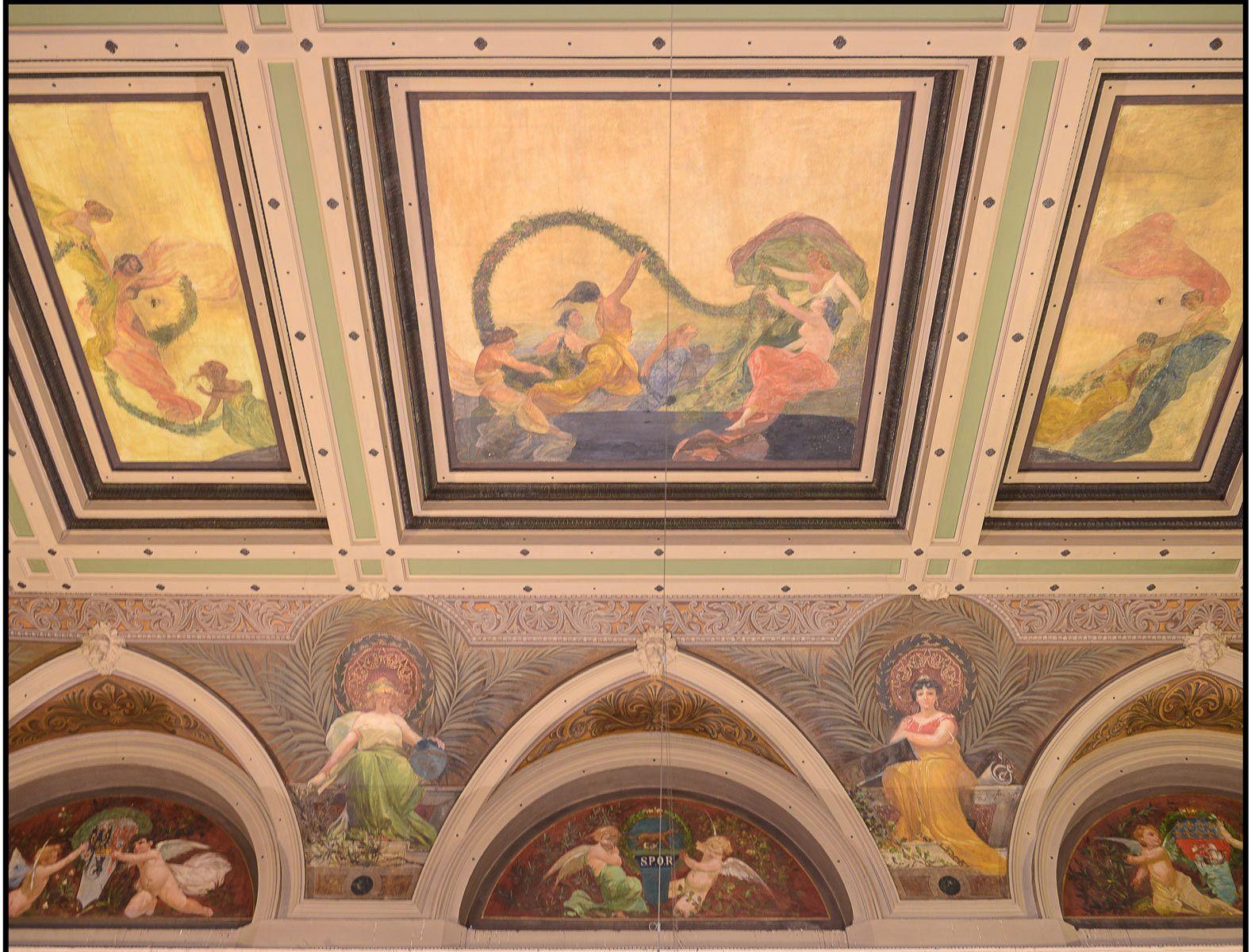 Brignole Railway Station-ceiling study