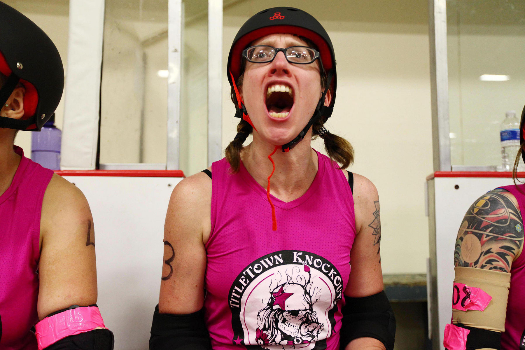 Roller Derby, Up Close and Personal