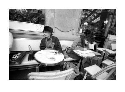 Women Cafe Flore