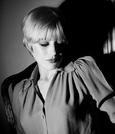 Marianne Faithful.
