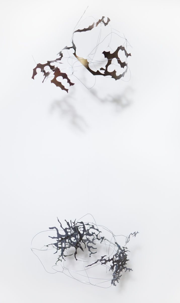 Untitled (hanging wire piece)