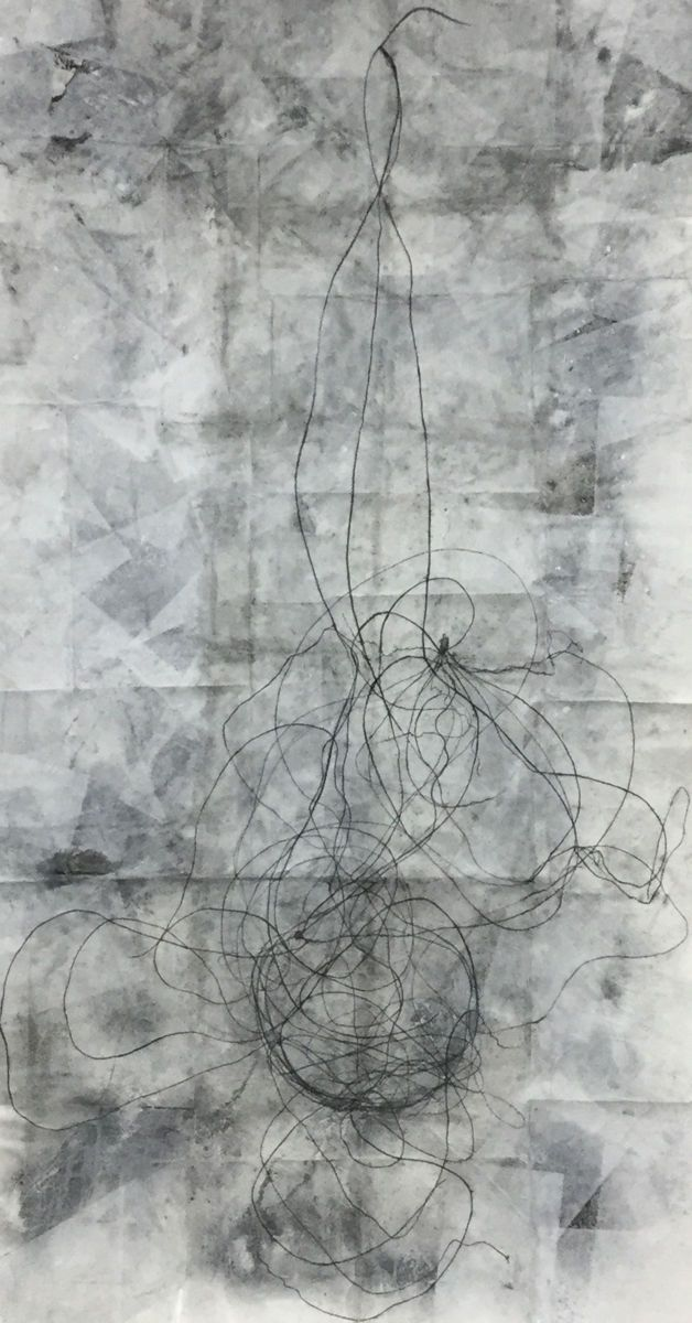 """detail of """"His supercluster cosmic remnant"""""""