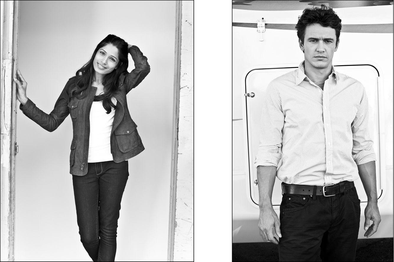 Freida Pinto  &  James Franco
