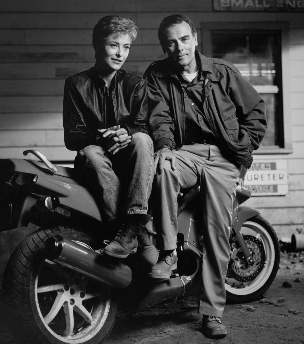 Amanda Donohoe & Dean Stockwell