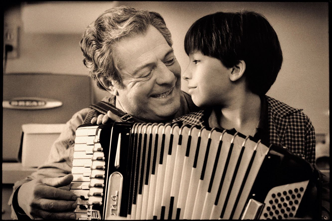 Marcello Mastroianni  &  Matthew Branton