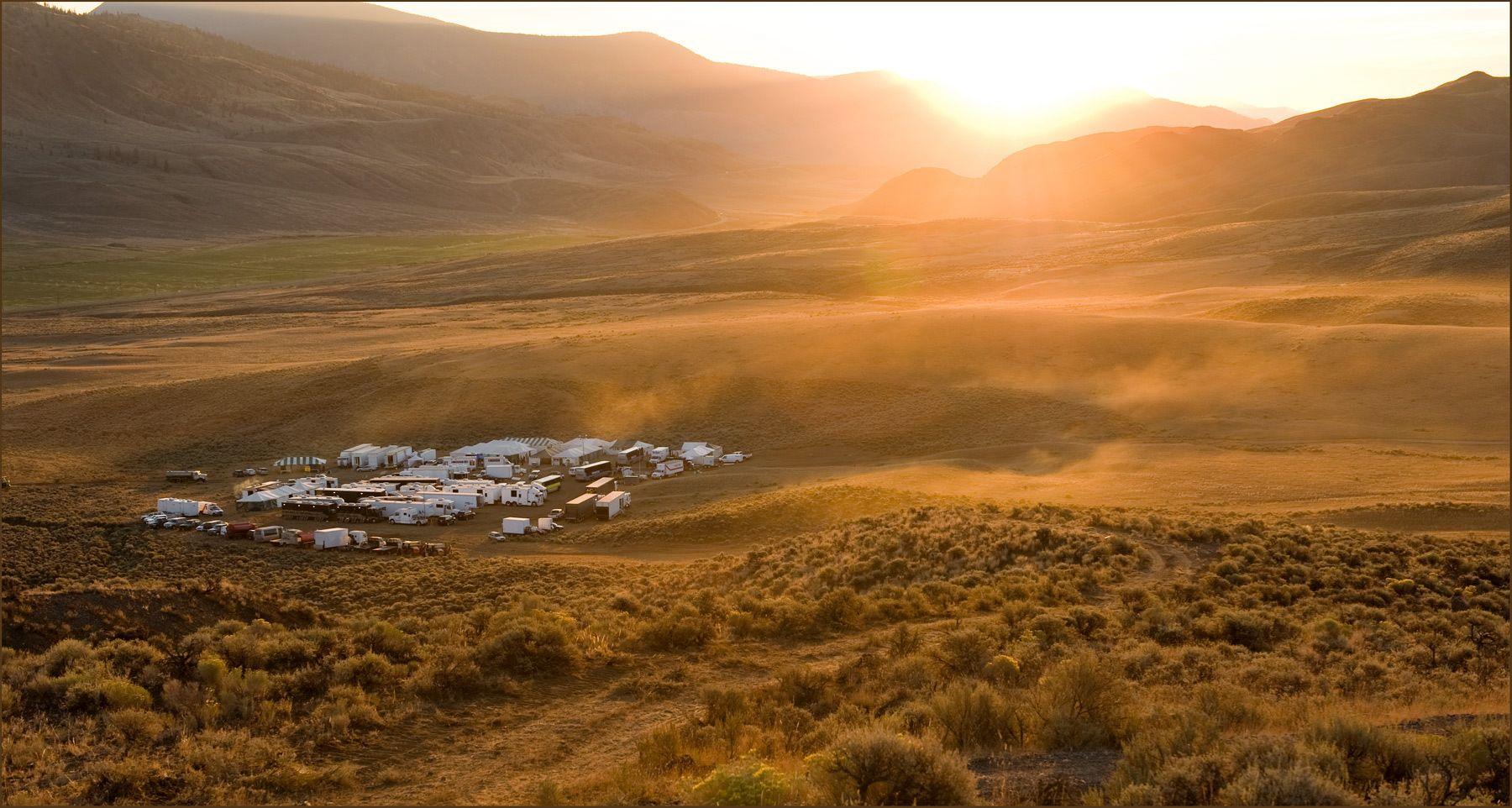 Base Camp early sunrise