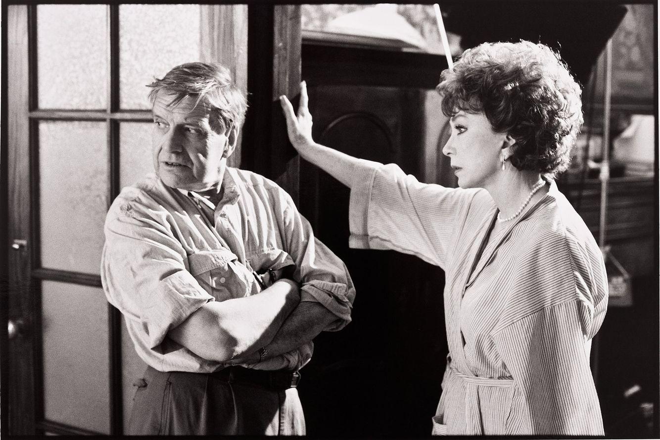 Cinematographer David Watkin & Shirley MacLaine
