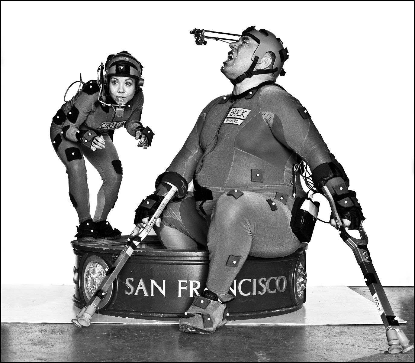 Big & Small  / Richard Ridings & Devyn Dalton / MoCap