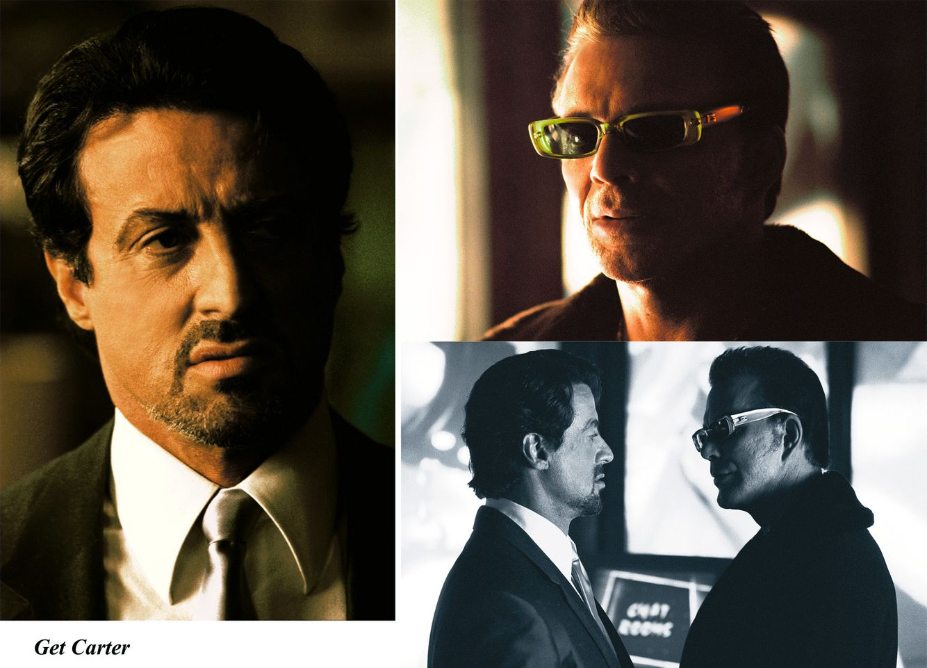 Sylvester Stallone & Mickey Rourke