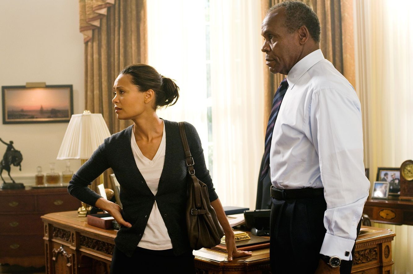 Thandie Newton  &  Danny Glover