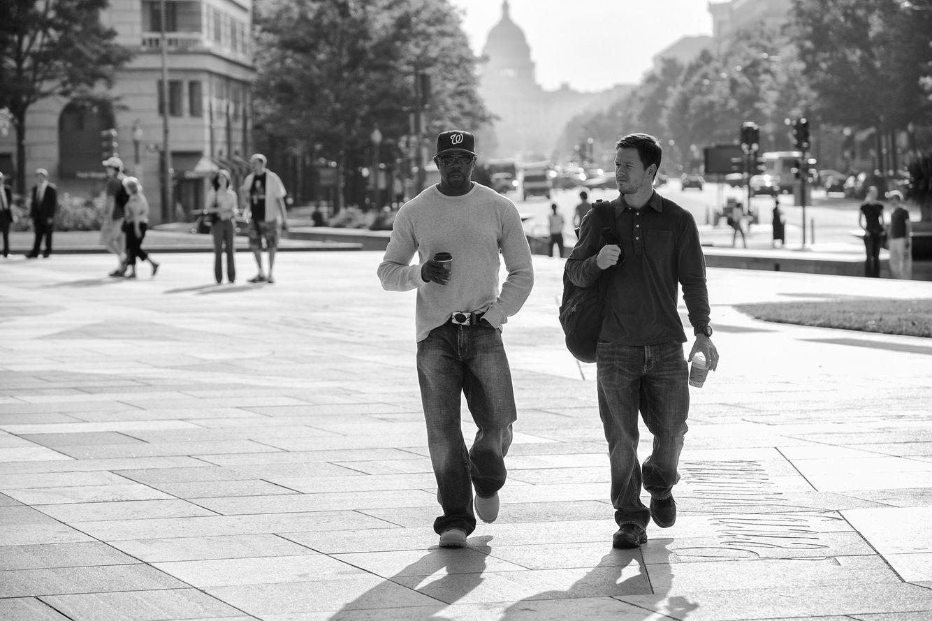 Antoine Fuqua & Mark Wahlberg in DC