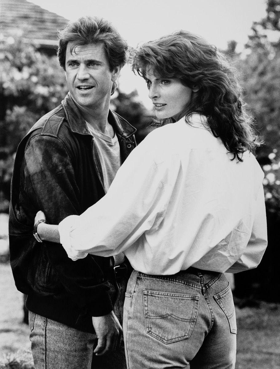 Mel Gibson & Joan Severance