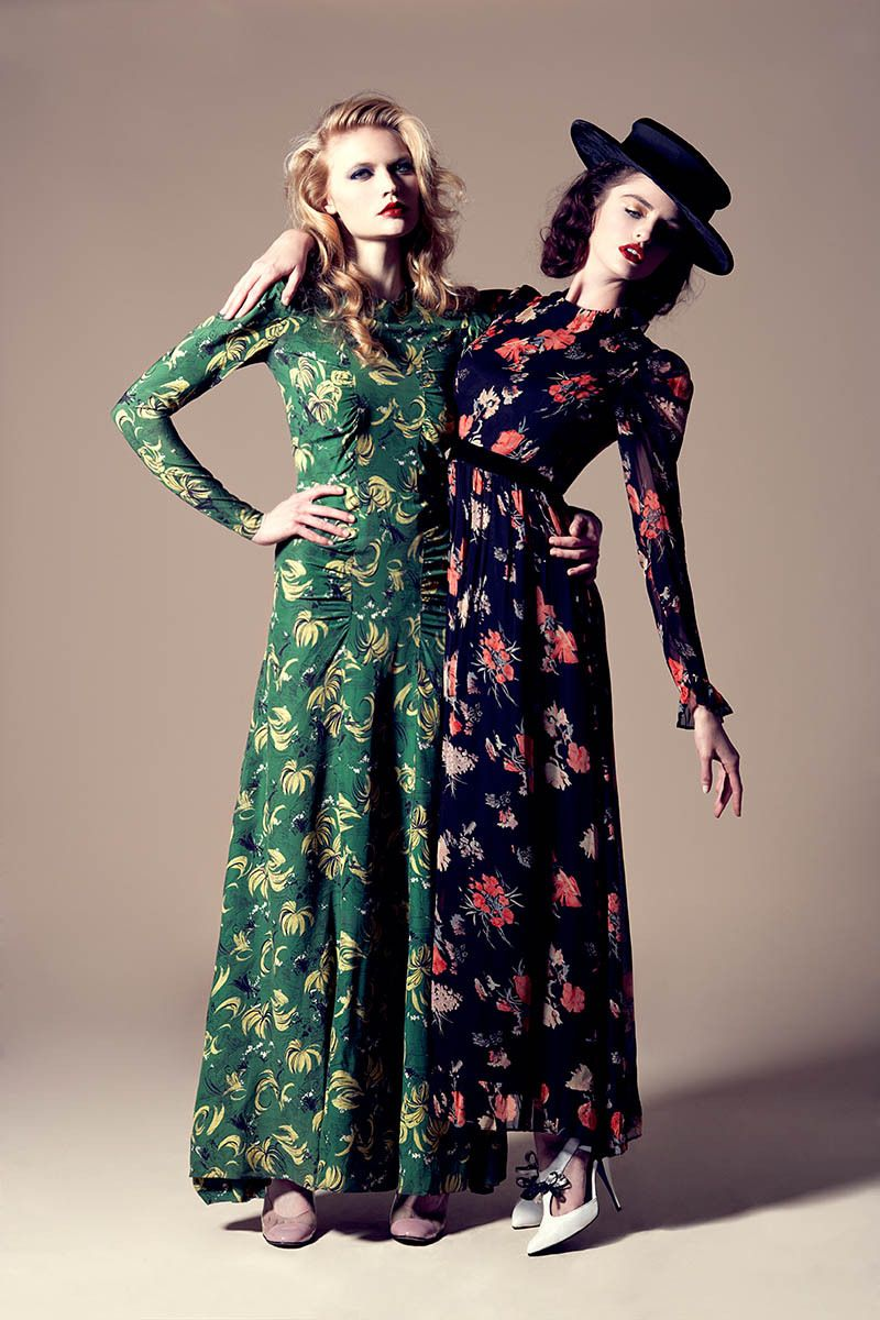 Models: Katya Elizarova & Megan Hind