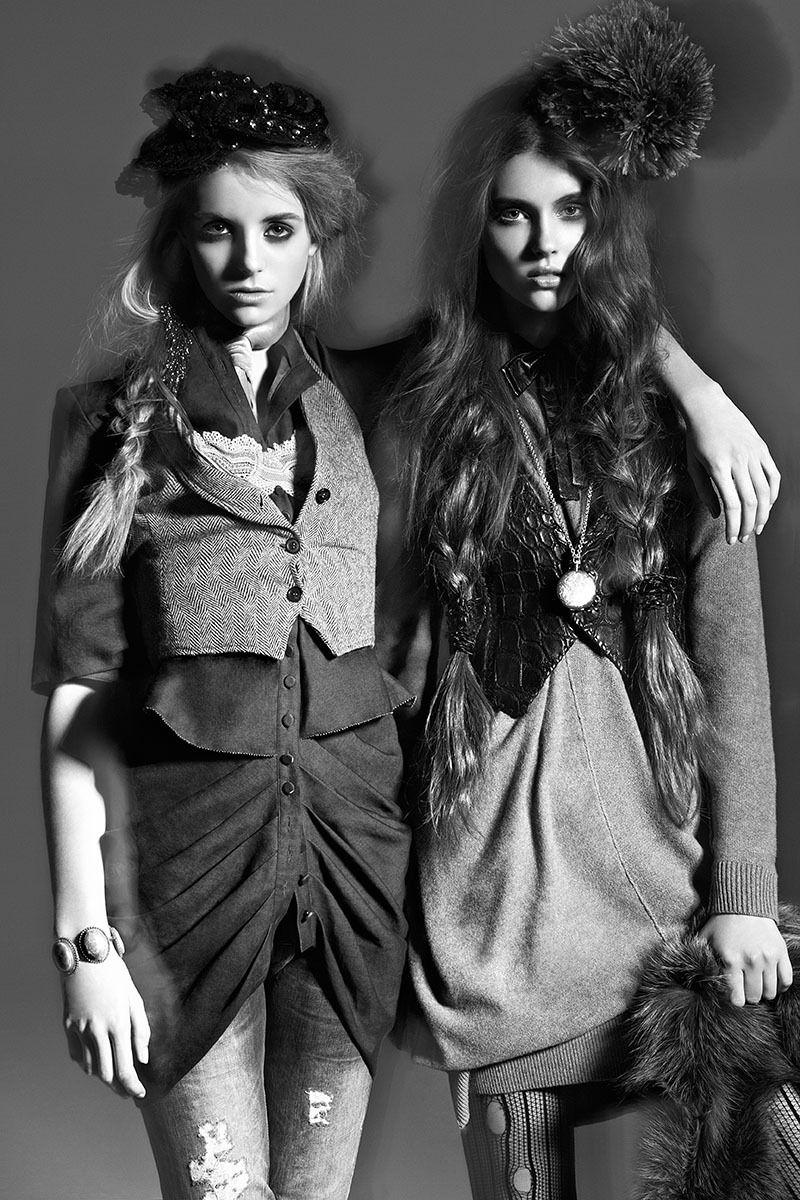 Model: Chelsea Donaldson & Anett Griffel