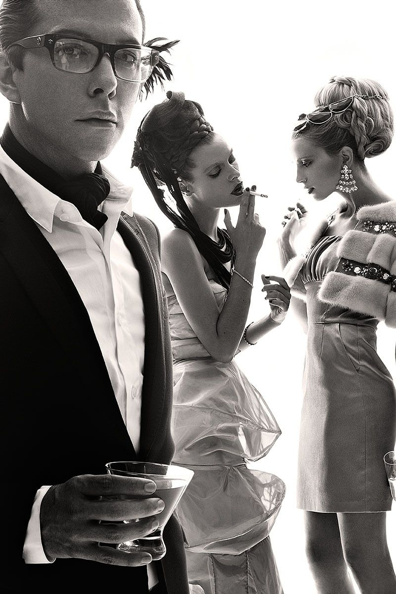 Models: Derek Warburton, Tatiana Pajkovic & Tehila Rich
