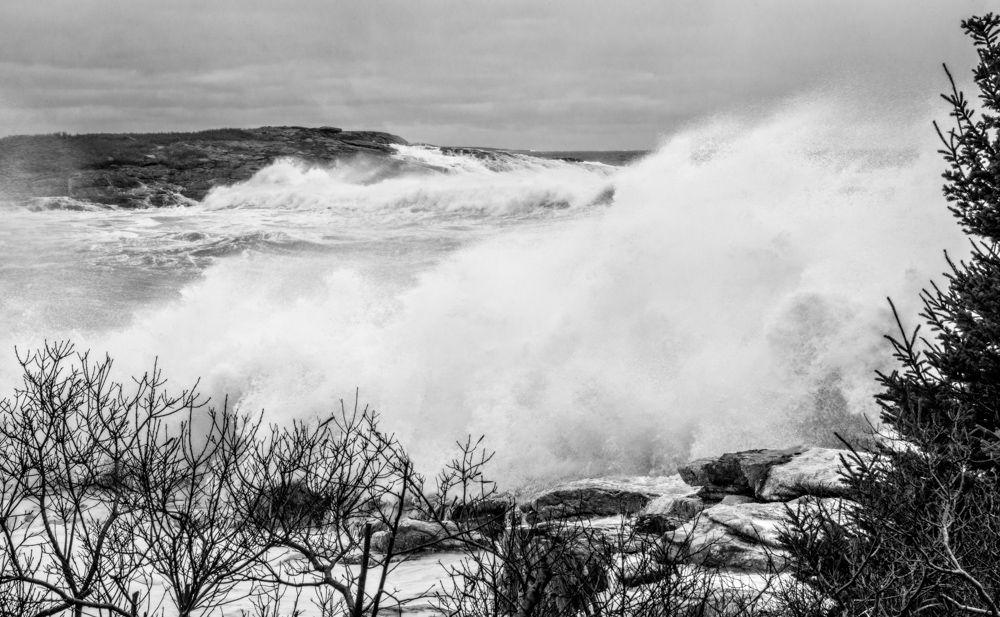 Winter Storm, Reid State Park